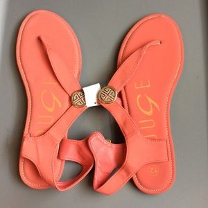 Shoes - Salmon pink sandals